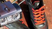 Specialized cipőben, nagy fényerővel