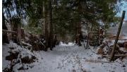 Túrázás a téli Erdélyben
