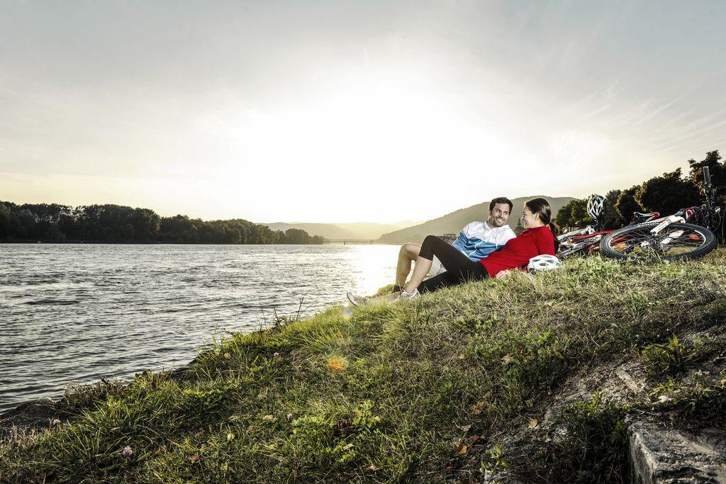 Duna menti kerékpárút a Wachauban Forrás: © Donau Niederösterreich / Steve Haider