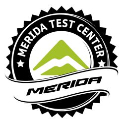 Merida Test Center Logo Forrás: Bikefun.hu