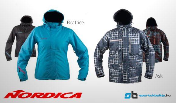 Nordica Beatrice és Ask síkabát Forrás: Sportokboltja.hu