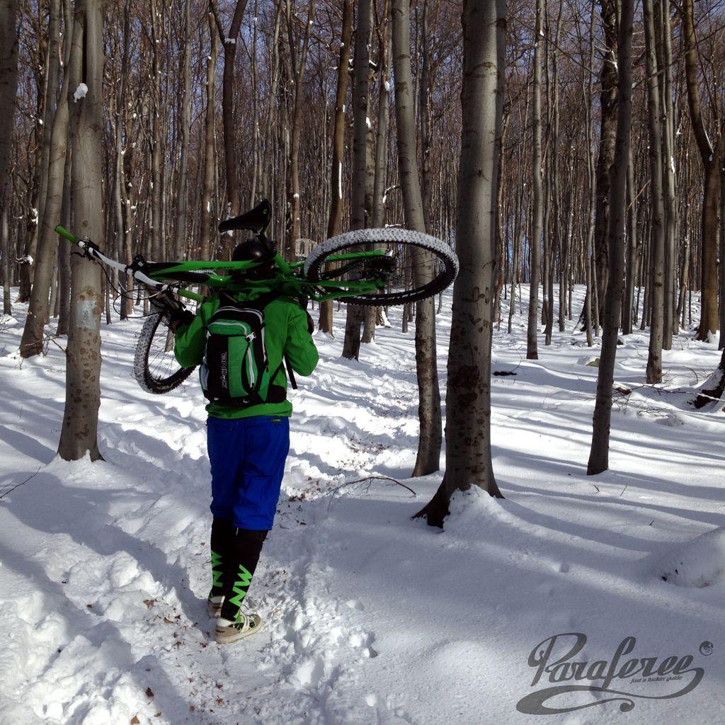 Örömbringázás - mínusz 11 fokban és hóban? Forrás: Paraferee - Mozgásvilág.hu