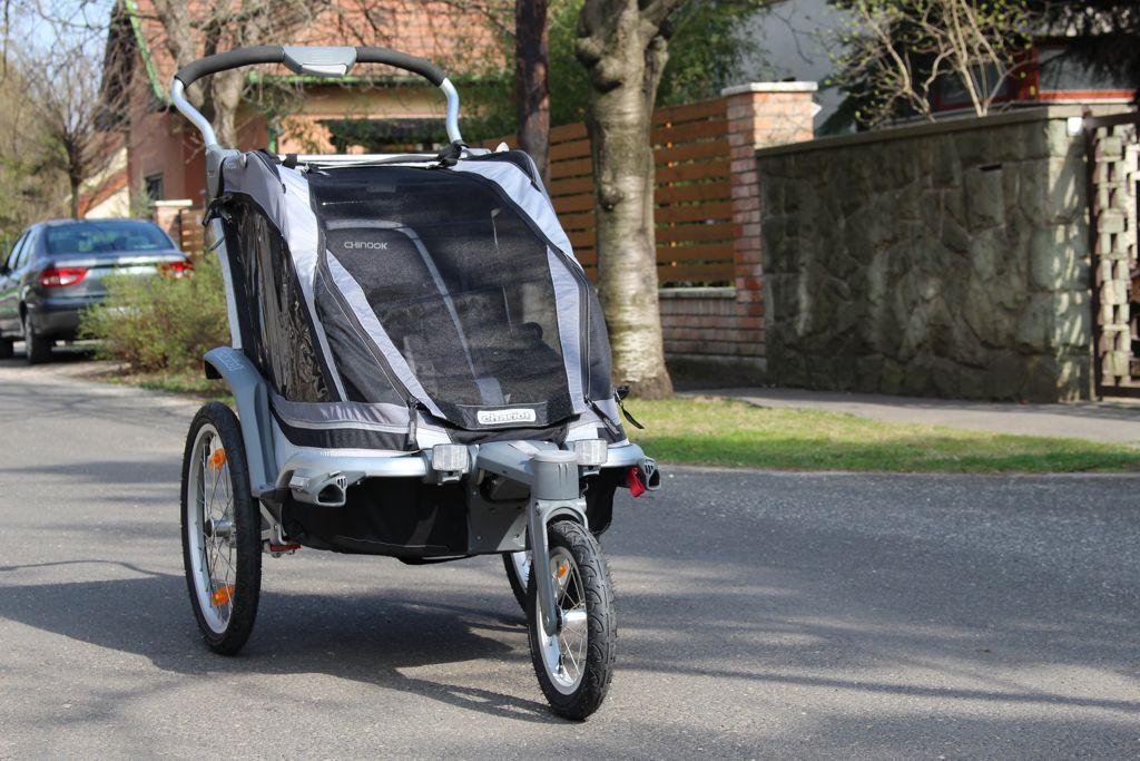 Thule Chariot Chinook 1 Forrás: Mozgásvilág.hu