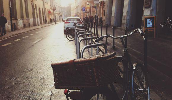 Kerékpár lakatolás nyugalommal Forrás: Sylwia Bartyzel