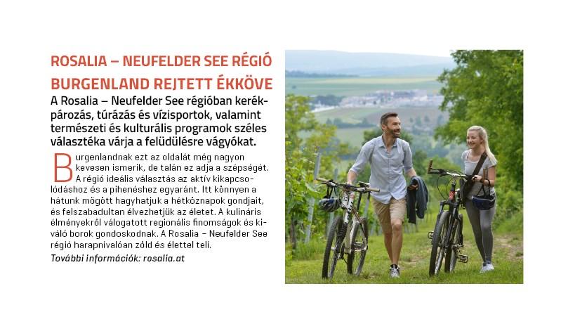 Rosalia - Neufelder See régió