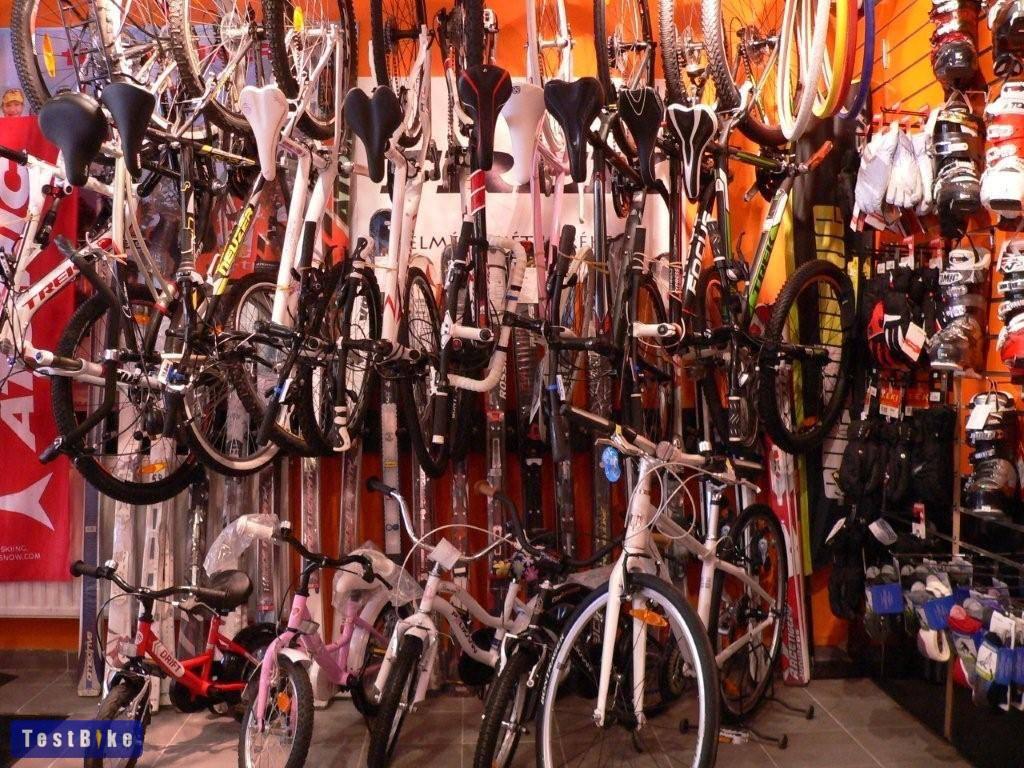 III. kerület Óbuda kerékpár szerviz és üzlet - Slalom Sport belül (kerékpárok)