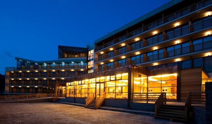 A szálloda. Forrás: www.bohinj-park-hotel.si