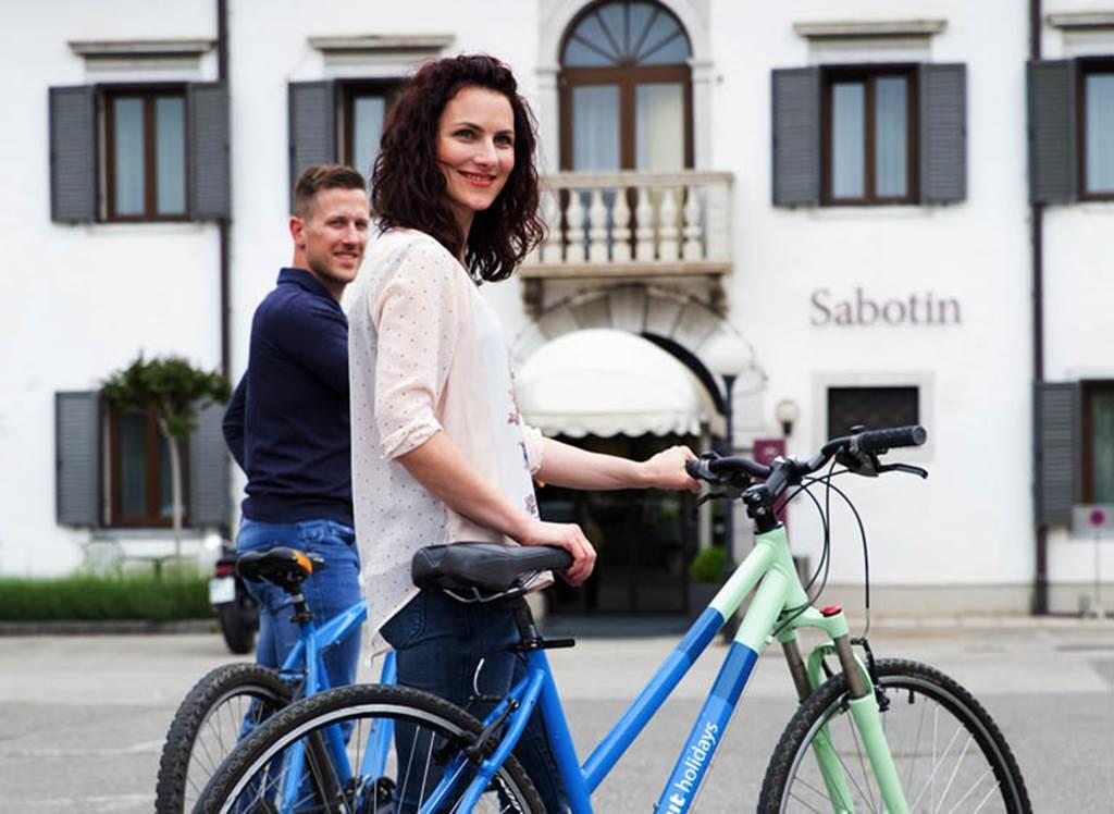 Kerékpározás Forrás: Hotel Sabotin