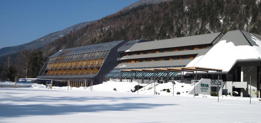 A Hotel Spik télen Forrás: www.szloveniainfo.hu