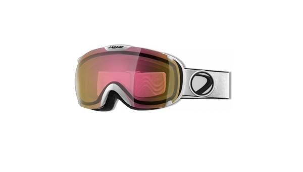 Dye rózsaszín tűz síszemüveg