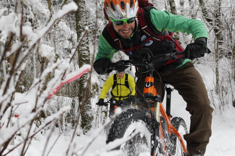 Téli bringa- azért tekerni az ebringát is kell