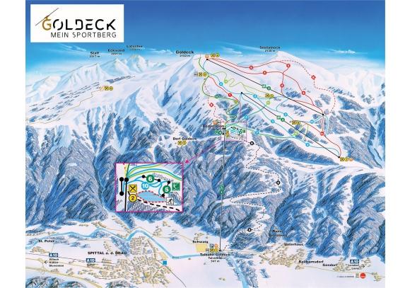 Goldeck - Millstatti Sportrégió