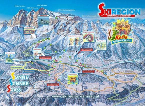 Ramsau-Dachstein - Ski amade