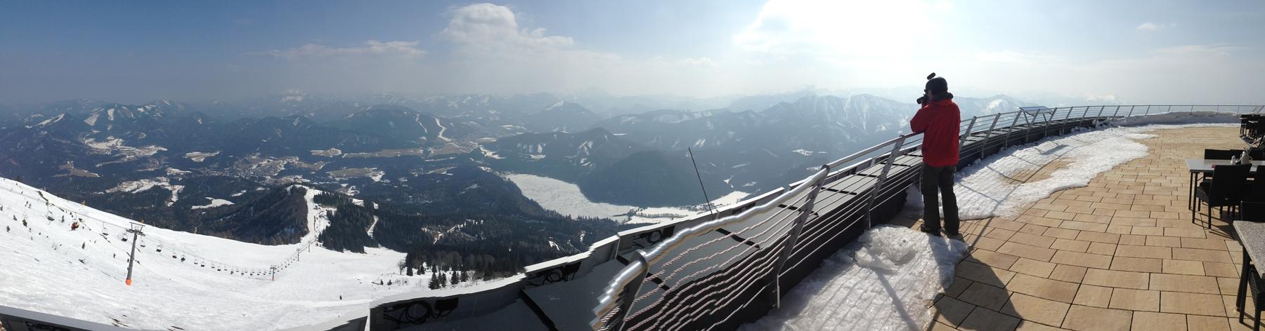 Panorama a Terzer-házból