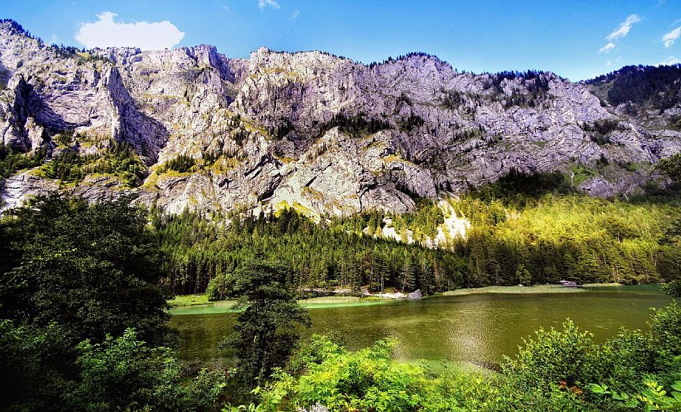 Az Erzberg impozáns természeti környezete ForrĂĄs: www.erzberg-alpin-resort.at