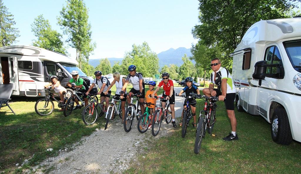 Kerékpártúra a Júliai Alpokban Forrás: (c) TD Bohinj