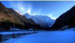 Téli családi hétvége a Logar völgyben