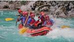 Rafting a Sočán, kanyoning és zip-line