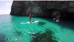Barlangnéző SUP túra Máltán