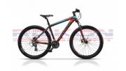 Cross GRX 27,5 férfi MTB kerékpár 2018', matt fekete-piros