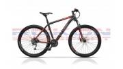 Cross Grip 29 férfi MTB kerékpár 2018', matt fekete-piros
