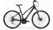 Merida Crossway 20V Cross Trekking női kerékpár matt fekete ...