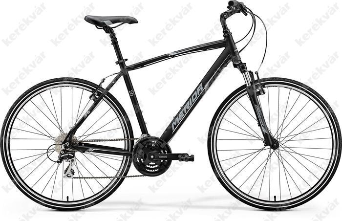 Merida Crossway 20V Cross Trekking kerékpár fekete 2018 férfi