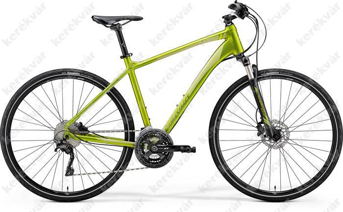 Merida Crossway XT ED Cross Trekking kerékpár zöld 2018