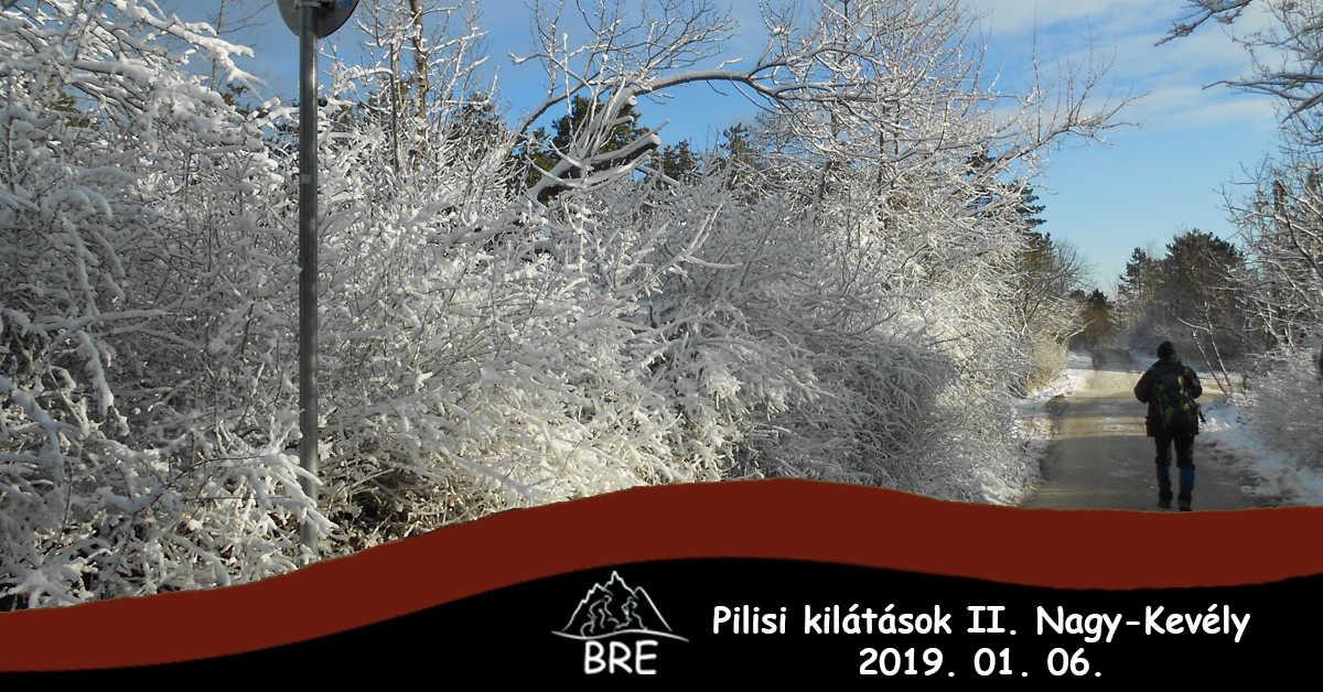 BRE - Pilisi kilátások II. Gyalogtúra Nagy-Kevélyre