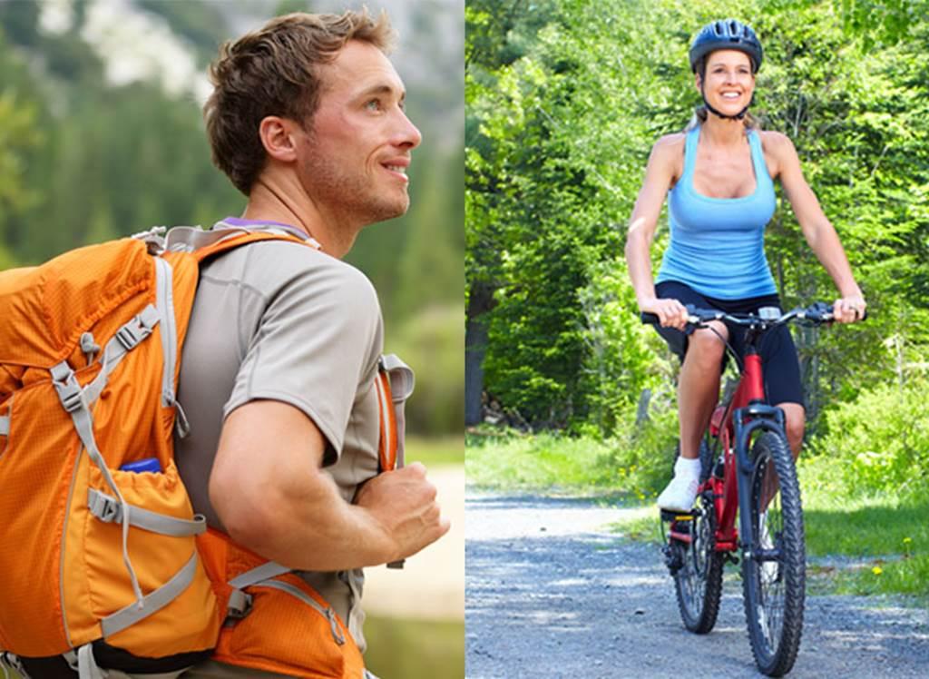 Kerékpározás és túrázás