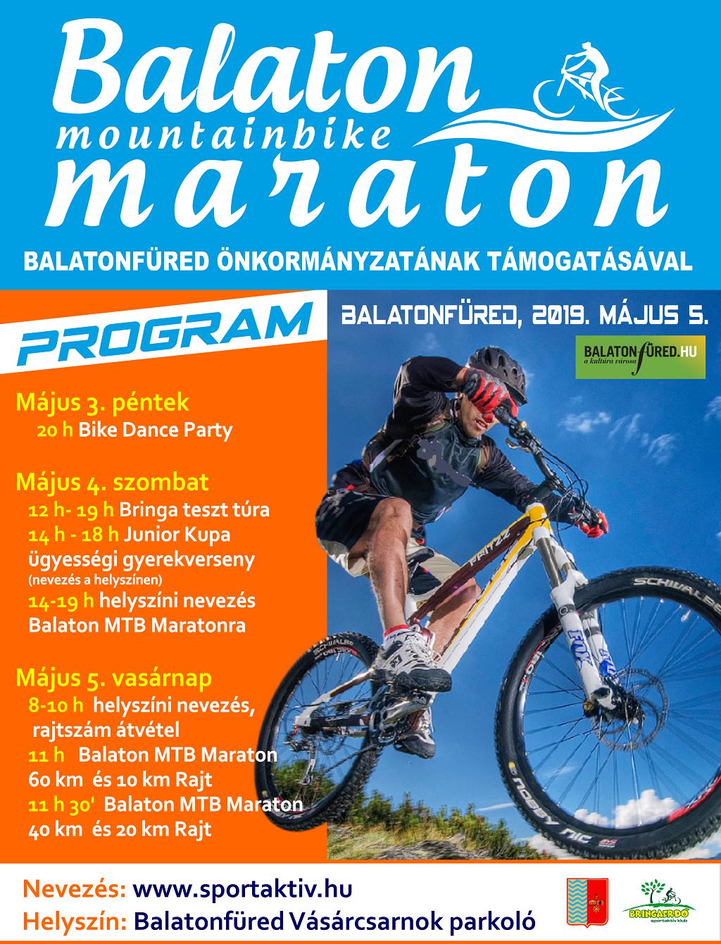 Balaton MTB Maraton plakát