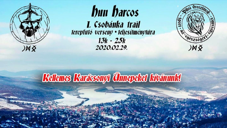I. Csobánka trail 2020