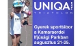 Uniqa Team Triathlon - gyerek sporttábor   www.mozgasvilag.hu