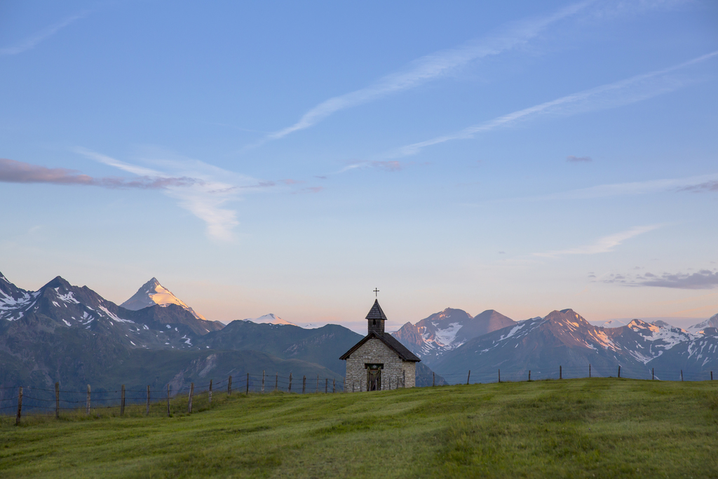 Mohar kápolna Forrás: Nationalpark Region Hohe Tauern, Fotograf: Tine Steinthaler