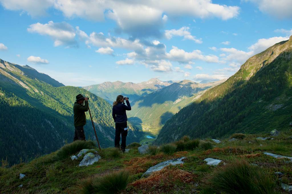 Hohe Tauern Nemzeti Park Forrás: (c) Kärnten Werbung, Fotograf: Franz Gerdl