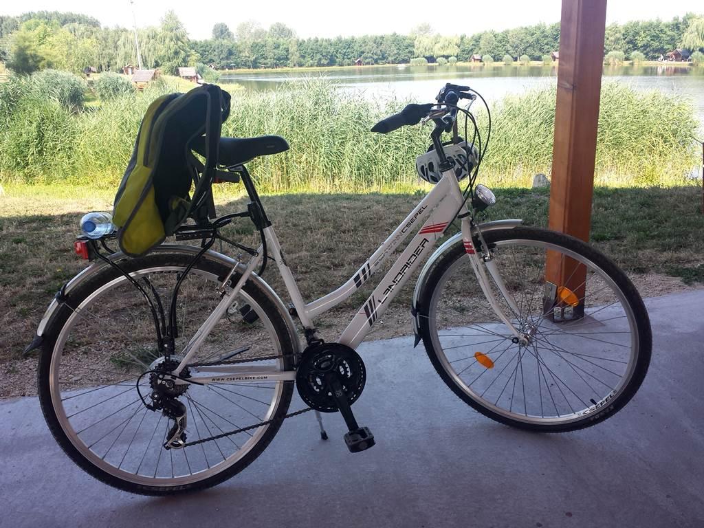 Kerékpárbérlési lehetőség szintén ugyanitt található Forrás: www.mozgasvilag.hu