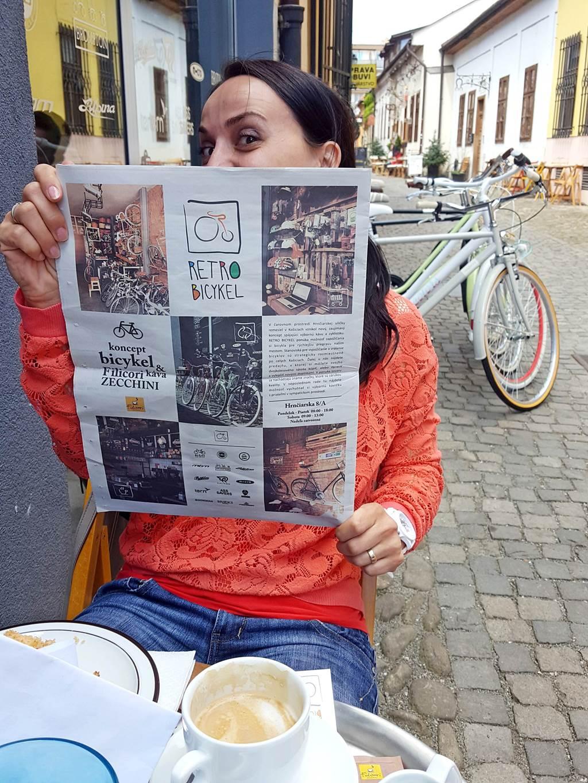 Retro Bicykel kerékpárbolt és kölcsönző Kassa történelm belvárosában ForrĂĄs: www.mozgasvilag.hu