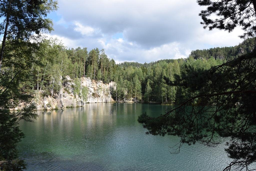 Adršpach-Teplice sziklaváros Forrás: Nagy Árpád