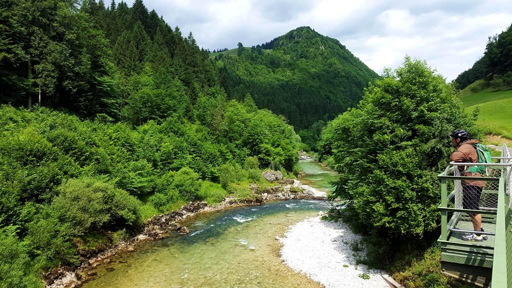 Opponitztól Waidhofen felé a kilátás Forrás: www.mozgasvilag.hu