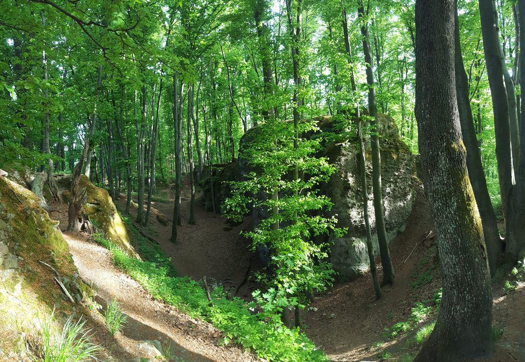 A Zsivány-sziklák Forrás: Mozgásvilág.hu