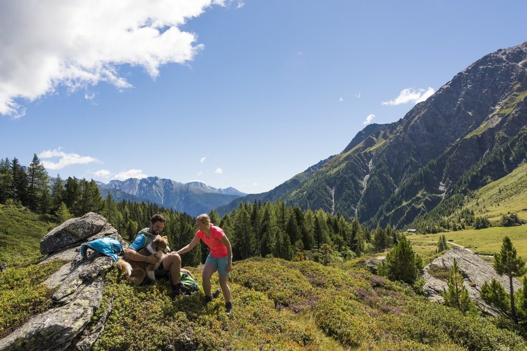 Hohe Tauern Nemzeti Park Forrás: © Kärnten Werbung, Fotograf: Franz Gerdl