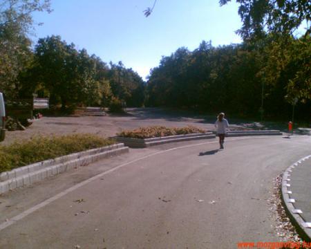 Normafa futóútvonal