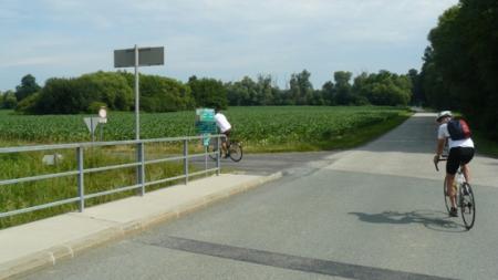Kerékpártúra a Lapincs mentén