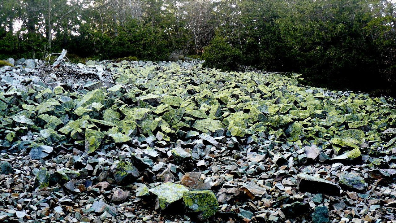 Zöld sziklák