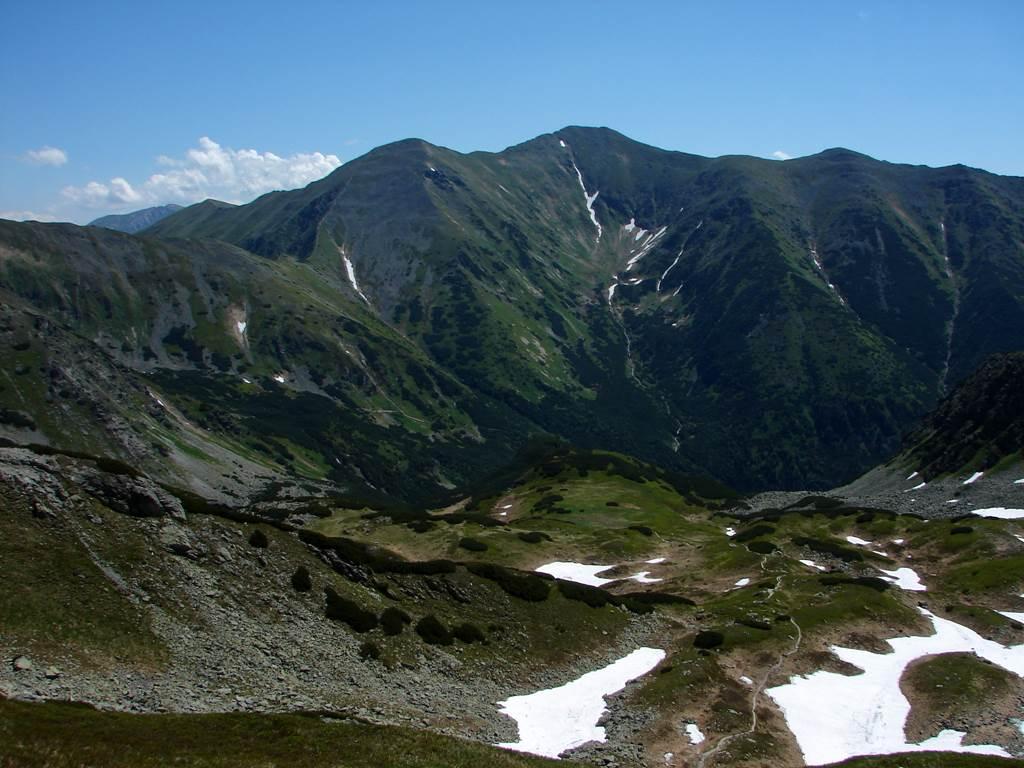 A Jamniki-völgyből a Zsári-nyergen át a Baranyecre Forrás: Nagy Árpád