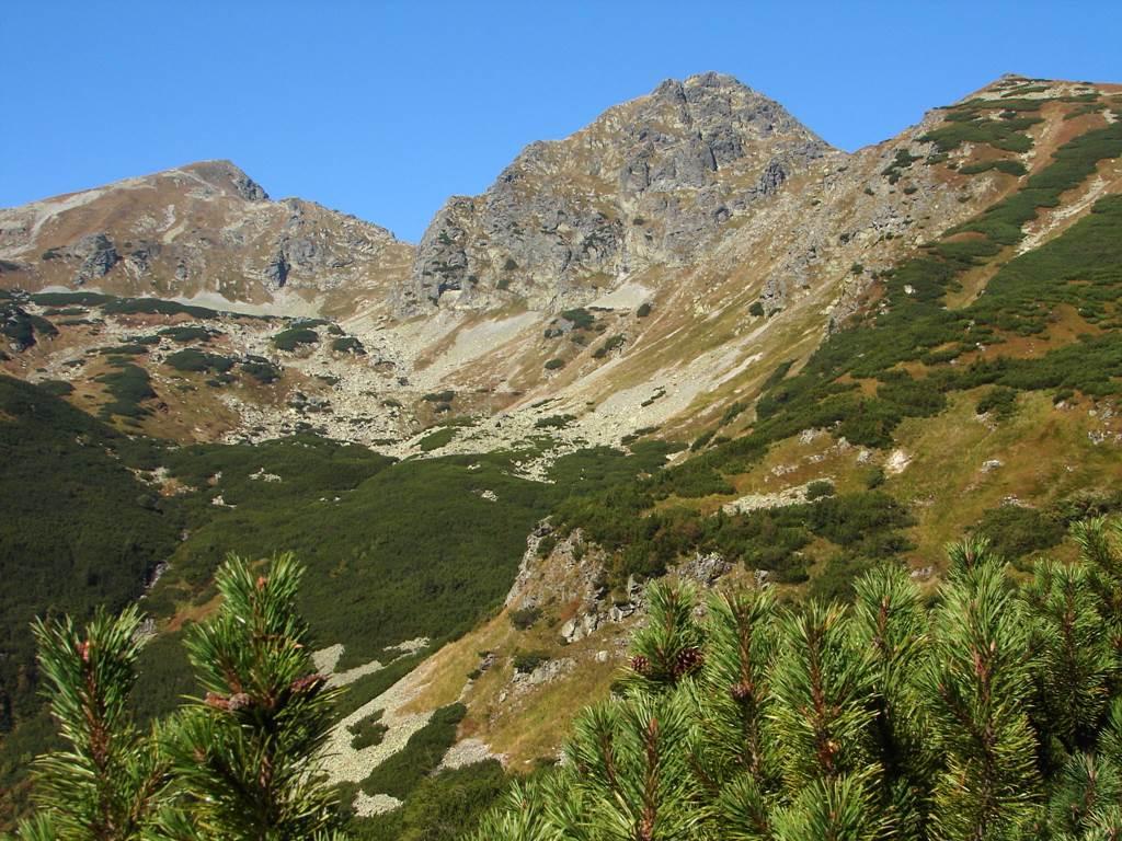 A Jamniki-völgyből a Jamniki-hágón át a Placslivora Forrás: Nagy Árpád
