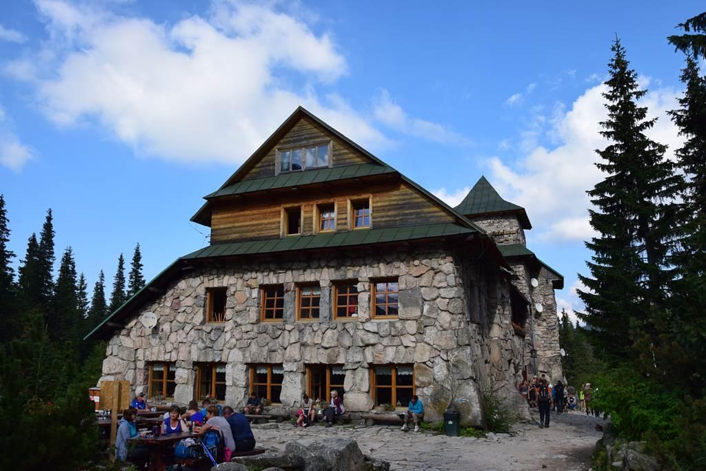 A Murowaniec menedékháztól a Fekete-fali-csorbába vagy a Zerge-csorbába Forrás: Nagy Árpád