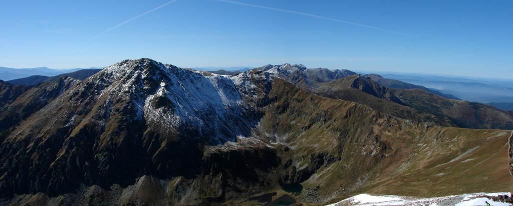 A Szürke-rétről az Ótárna-völgyön át az Ék-hegyre Forrás: Nagy Árpád