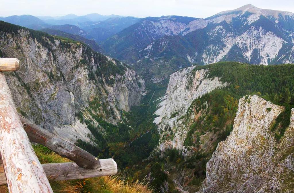 A Nagy-Pokol-völgy fentről Forrás: Nyáry Tamás