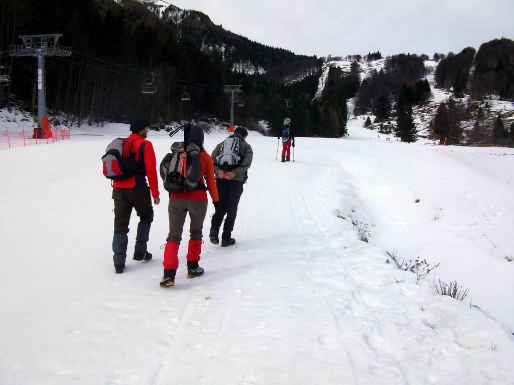 Schneeberg téli túra Forrás: Trekk.hu (c) Nyáry Tamás